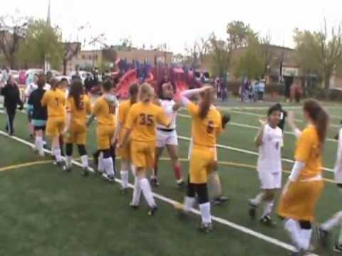 Chicago Waldorf School soccer highlights - 05/09/2011
