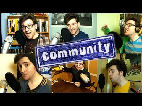 "At Least It Was Here (""Community"" Theme Song) // Liam Covers"