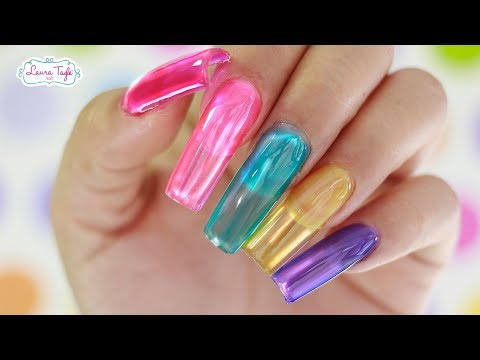 JELLY NAILS TUTORIAL / HOT TREND 2018