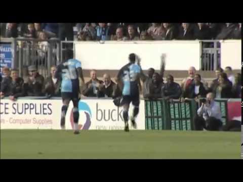 Ibe Wycombe goal