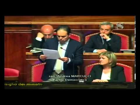 Discussione su fiducia governo Letta – Intervento di Andrea Marcucci