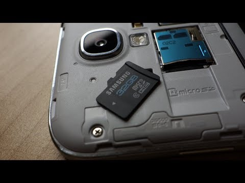 Moving apps to the SD card on the Samsung Galaxy S4