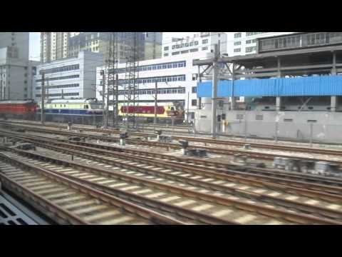 CRH Shenzhen to Guangzhou East - Chinese Diesel and Electric Trains