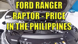 Ford Ranger Raptor Price In The Philippines