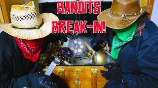 The Bandits Stole All Our Treasures!