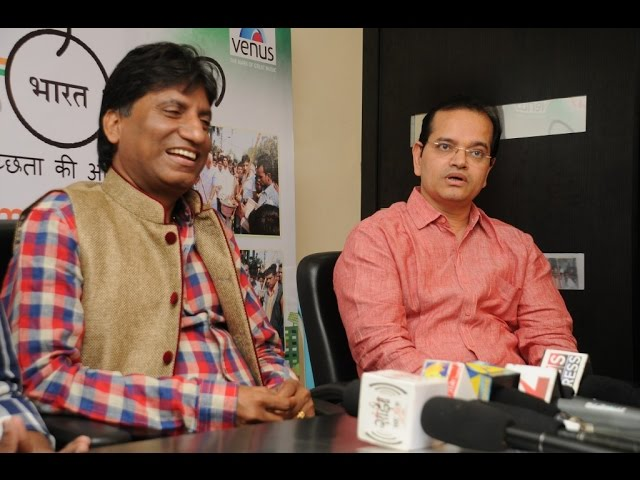 "Comedy To Singing - Raju Srivastav Turns Singer Launches ""Mera Swachh Bharat"" Song"