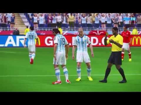 Mundial De Futbol Serbia 2014 Grupo B Argentina vs Tunisia