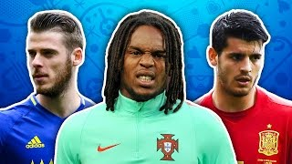 Players To Watch At EURO 2016 XI | de Gea, Sanches & Morata!