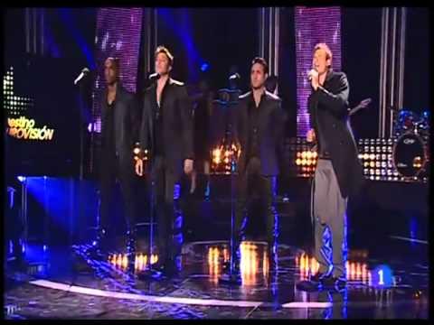 BLUE - Breathe Easy HQ ( Live on Spain Final Destino Eurovision 2011)