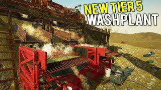 TIER 5 DOUBLE GRAVEL GOLD PUMP SETUP! Two Million Dollar Operation - Gold Rush Full Release Gameplay