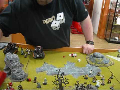 Battle Report: Blood Angels vs Imperial Guard