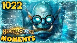 You ALWAYS Bet For The 1/8 LETHAL | Hearthstone Daily Moments Ep.1022