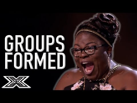 When GROUPS Are FORMED On The X Factor! | X Factor Global