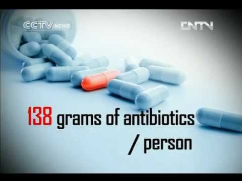 China , rules on antibiotics take effect