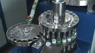 video of folding, slitting and liner machine