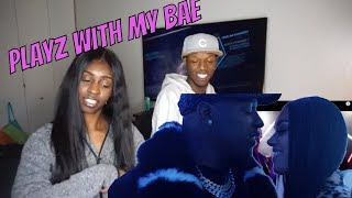 Download Lagu D&B NATION PLAYZ WITH BAE (MUSIC VIDEO) REACTION | Holly and Sdot Gratis STAFABAND