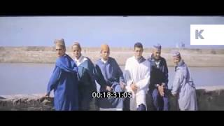 1960s Morocco, Street Scenes, Lemon Groves, Travelogue, Home Movies