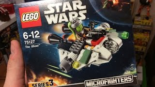 75127 LEGO Microfighters The Ghost - обзор