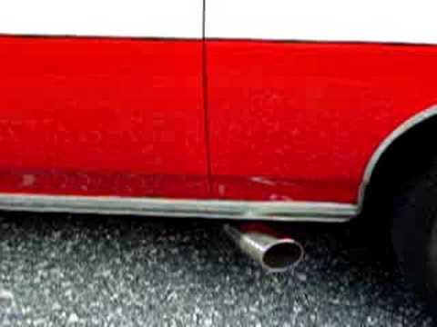 STARSKY & HUTCH EXHAUST