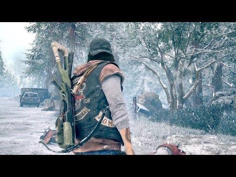 Days Gone — Выживание зимой и открытый мир! Геймплей 11 минут! E3 2017 (4K)