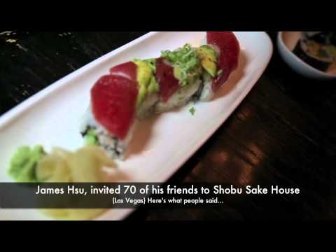 Best Japanese Restaurant in Las Vegas; Shobu Sake House