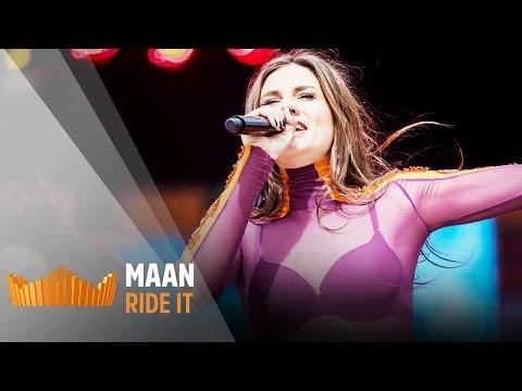 MAAN - Ride It   Live op 538Koningsdag 2017