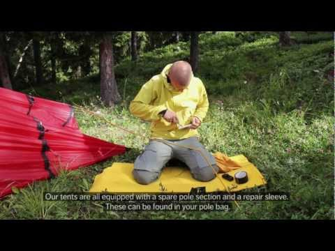 Hilleberg Pole repair