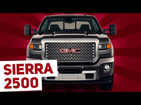 2016 GMC Sierra Denali 2500 - The Cadillac Of Heavy Duty Pickup Trucks?