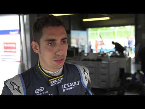 Sebastien Buemi pre-season Formula E interview | ITV Sport