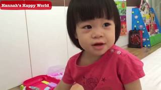 2 years old Sing Jesus Loves Me by Good Baby Hannah