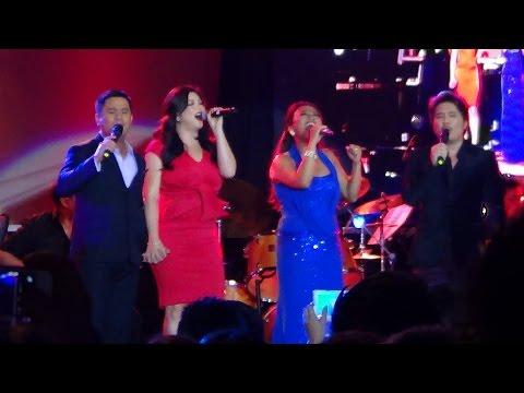 REGINE VELASQUEZ, OGIE ALCASID, JANNO GIBBS & JAYA (Memories... 25 Years Concert!)