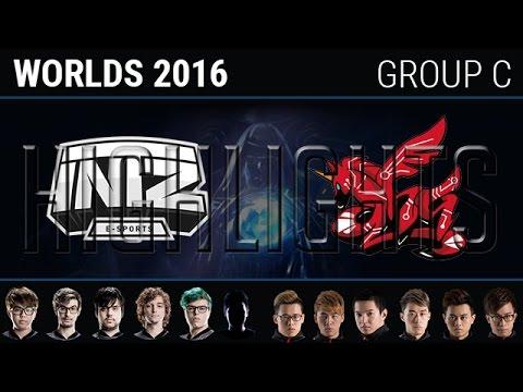 INTZ e-Sports vs AHQ e-Sports, Highlights, S6 World Championship 2016 Week 2 Group C ITZ vs AHQ