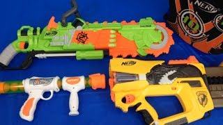 Box of Guns Toy Guns Nerf Gun Zombie Strike Toy Weapons