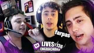 YODA E ALAN TROCANDO FARPAS & SKIPNHO GANKANDO GRINGO | LIVES ENGRAÇADAS #136
