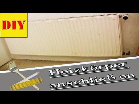 ► Heizkörper Anschließen - Montieren - Einbauen - Installieren - Heater Installation