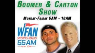Boomer & Carton In The Morning - 4/17/09 - Craig causes hilarity making fun of Suzyn Waldman
