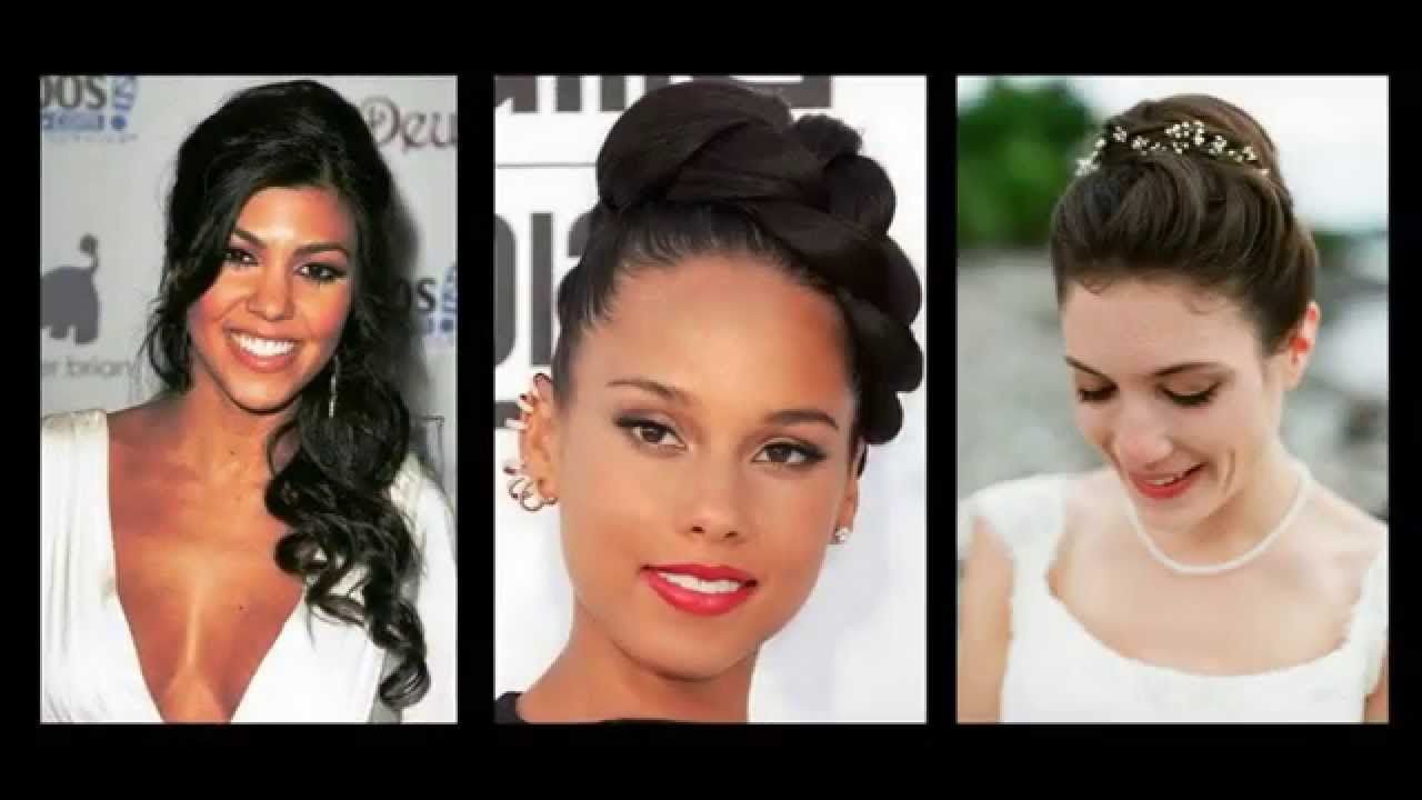 Acconciature da sposa per capelli di media lunghezza Updos