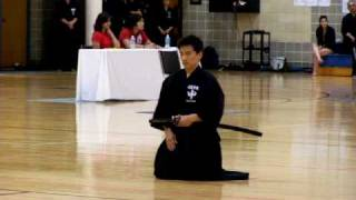 Paul, 2010 Iaido Taikai (competition), San Antonio, Texas (semi-finals?)