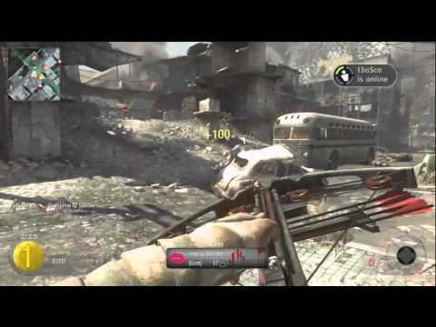 Amazing Black Ops 720 NoScope Crossbow!