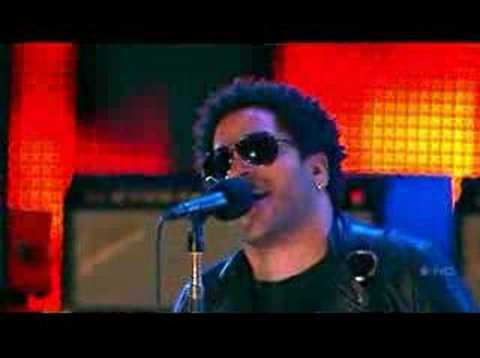 Lenny Kravitz American Woman Live video