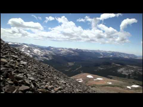 Climbing Mt Dana Video