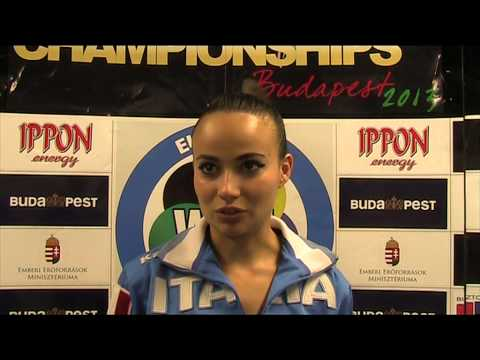 Kata Individual  Female V.Bottaro 48th European Karate Championships
