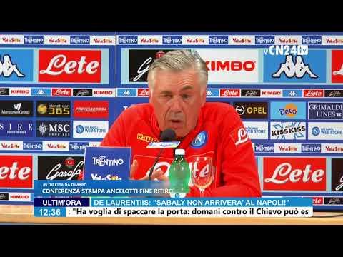 Conferenza stampa di fine ritiro