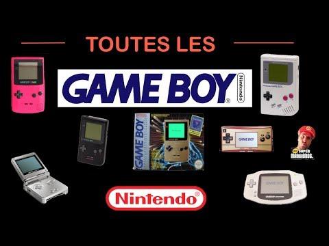 Présentation de toutes les Game Boy (de 1990 à 2005) [HD]