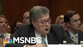 Nancy Pelosi Unloads On Trump AG Barr: He's Gone 'Off The Rails' | The Beat With Ari Melber | MSNBC