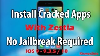 How to install zestia on iDevice without jailbreak for download free app instead of AppStore