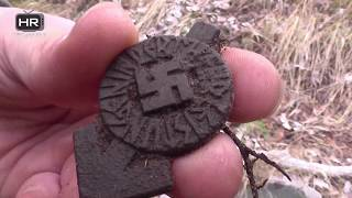 Metal Detecting WW2 Battlefields - WWII Relic Hunting Hitler Jugend Finds