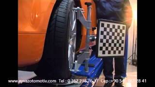Techno Vector 7 - wheel alignment presentation - www.rotayarmakinesi.com