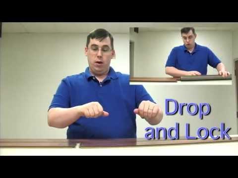 Types of Laminate Flooring Installation: Drop & Lock vs. Angle to Angle