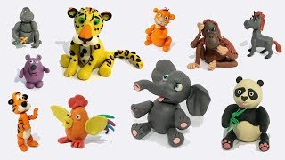 How TO MAKE CLAY ANIMALS